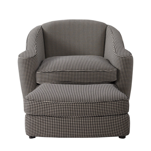 Кресло Bell Swivel Arm Chair-2567