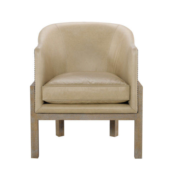 Кресло Lucerne Leather Arm Chair-2543
