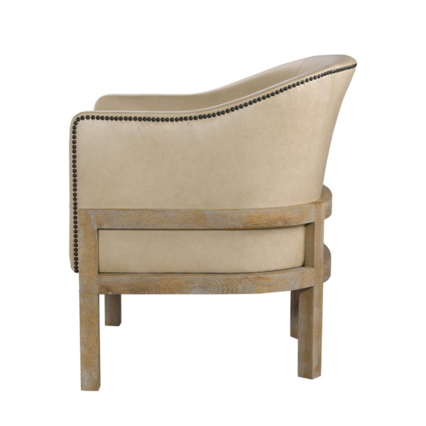 Кресло Lucerne Leather Arm Chair-2545