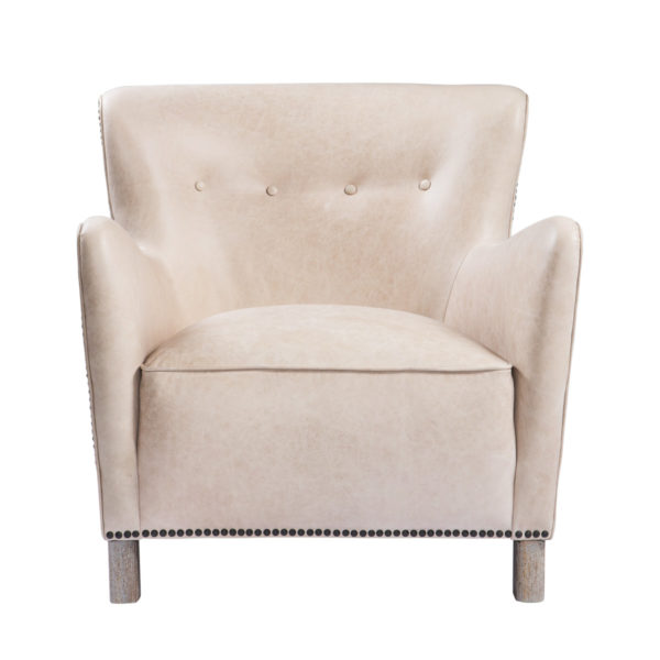 Кресло SAVONA LEATHER ARM CHAIR-2790
