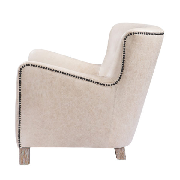 Кресло SAVONA LEATHER ARM CHAIR-2791