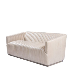Диван SETE STRIP GRANITE LEATHER SOFA-0