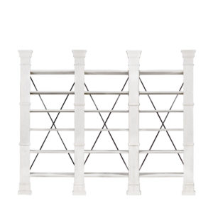 Книжная полка X-CROSS WHITE TRIPLE BOOKSHELF-0