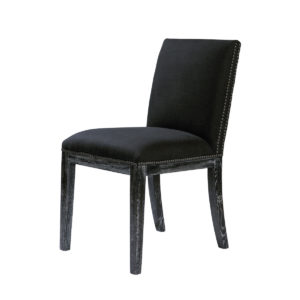 Стул PAVIA VINTAGE BLACK CHAIR-0